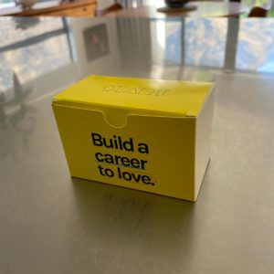 Build a Career to Love Personal Value Cards in yellow box - for individuals, groups, and teams